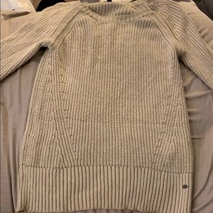 American Eagle Tan/Ivory Sweater